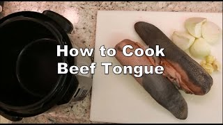 How to cook beef tongue in a pressure cooker