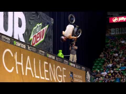 Dew Tour – Best BMX Tricks from Salt Lake City – Kyle Baldock Doubleflip, Steve McCann No-hand 900