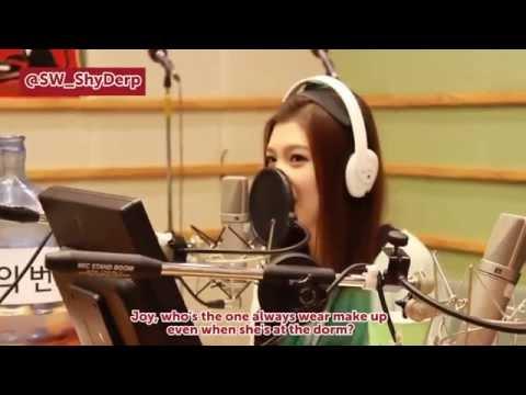 ENG SUB 레드벨벳 Red Velvet Sukira Radio (Speed Quiz)