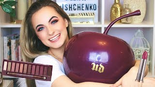NEW Urban Decay Naked Cherry Palette + Collection   FIRST IMPRESSIONS + DEMO