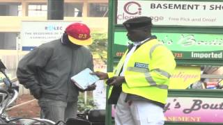 Corruption: Traffic Officer caught in the act