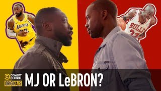 Who's the GOAT: LeBron or Jordan?