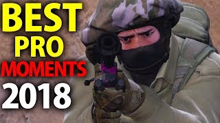 CS:GO - BEST PRO MOMENTS! 2018 (Flickshots, Crazy Clutches, Inhuman Reactions, ACEs, Best Frags)