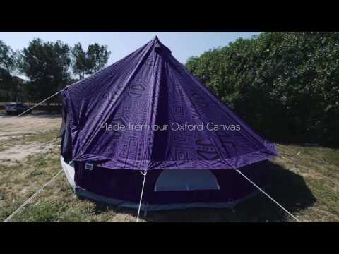 Boutique Camping Purple Rain 4m Bell Tent
