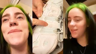 Billie Eilish LOSES IT Over the Color of Her Shoes