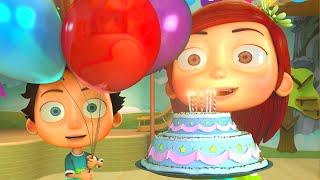 Happy Birthday Song - Funny Animation