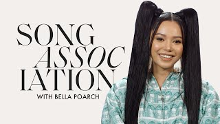 """Bella Poarch Sings SZA, Jessie J and """"Build a B*tch"""" in a Game of Song Association   ELLE"""