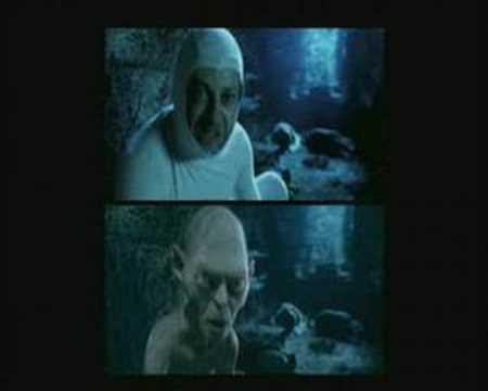Andy Serkis jako Gollum