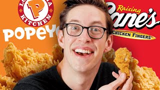 Keith Eats Everything At Popeye's & Raising Cane's
