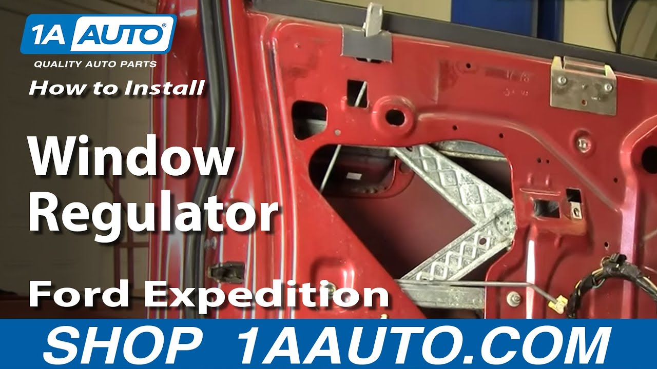How To Install Replace Window Regulator 97 02 Ford F 150