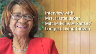 Hattie Baker Interview Raw Footage