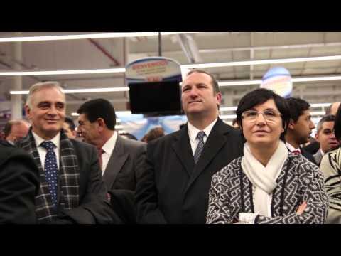 Inauguración Hipermercado COTO en Mendoza