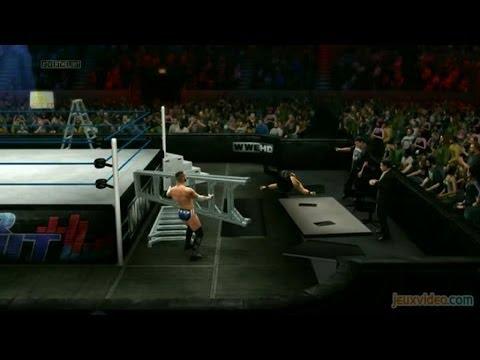 Gaming live WWE 2K14 Attaque d'échelles et brise-dos 360 PS3 ...