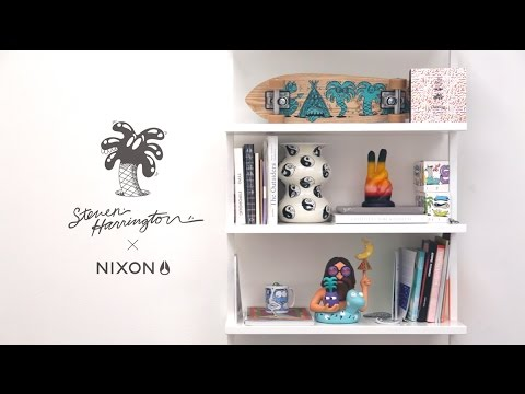 Steven Harrington / Nixon — Studio visit