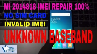 Mi 4!! 4x!! baseband Unknown!! solution!! 100% working