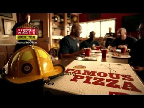 """Casey's General Store Pizza Spot - """"Fire Fighter"""""""