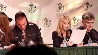 Voice Actors reading Star Wars script panel clip 10
