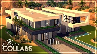MR. COLLABS | EP.5 - SimArchitecture's Modern Glam Home | NO CC + TOUR | The Sims 4 Speed Build
