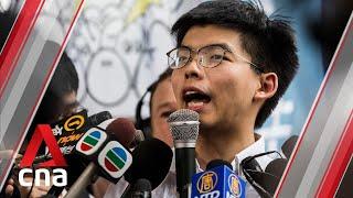 Hong Kong protests: Activist Joshua Wong calls for chief Carrie Lam's resignation