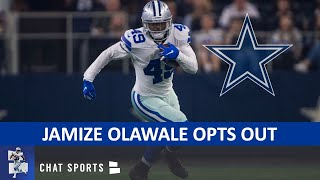 Dallas Cowboys News: Jamize Olawale Opts Out + Sewo Olonilua To Start At FB?