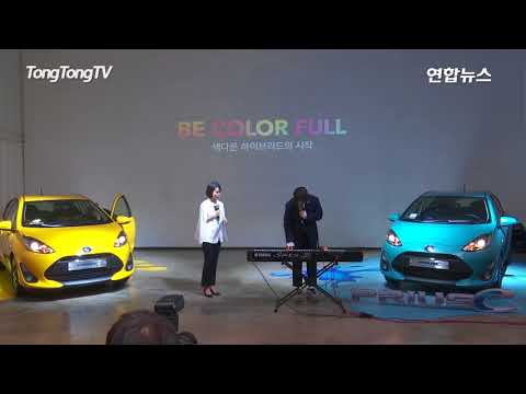 Henry at Toyota Prius C event