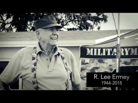 Remembering Military Makeover Host R. Lee Ermey for His Service