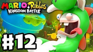 Mario + Rabbids Kingdom Battle - Gameplay Walkthrough Part 12 - Rabbid Yoshi!