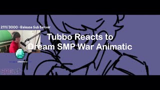 Tubbo Reacts to Dream SMP Animatic by  Sadist