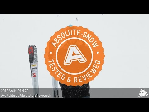 2015 / 2016 | Volkl RTM 73 Ski | Video Review