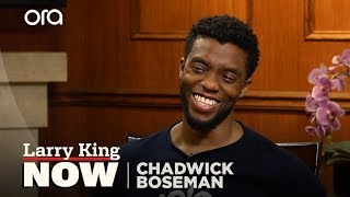 Chadwick Boseman on becoming Jackie Robinson for '42'