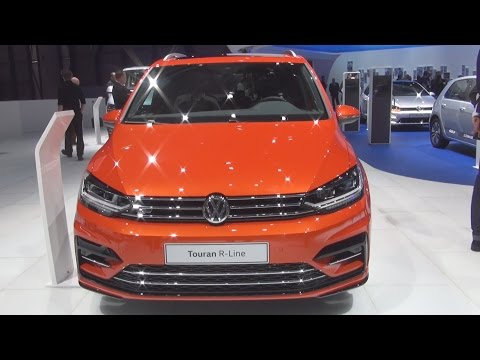 Volkswagen Touran R-Line 2.0 TDI SCR 190 hp DSG (2016) Exterior and Interior in 3D