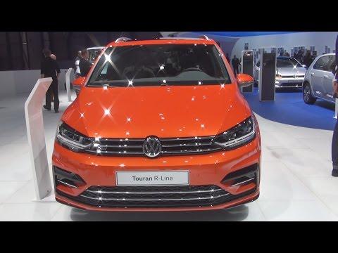 Volkswagen Touran R-Line 2.0 TDI SCR 190 hp DSG (2016) Exterior and Interior in 3D