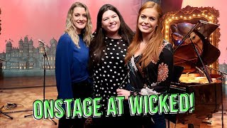 ONSTAGE at WICKED London! 💚 Rukaya Cesar