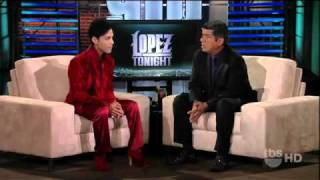 Prince Interview On George Lopez 2011