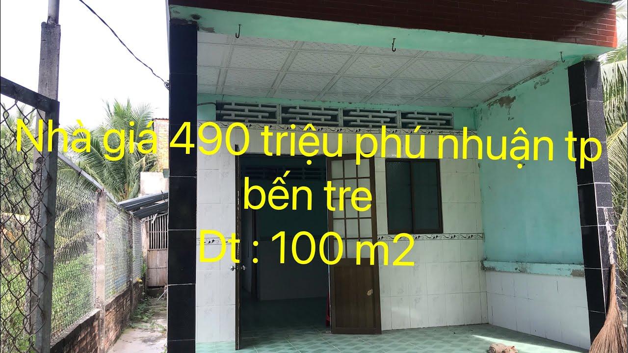 Nhà Phú Nhuận TP Bến Tre giá 490 triệu video