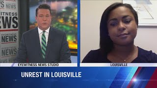 WDRB's Grace Hayba on current state of Louisville