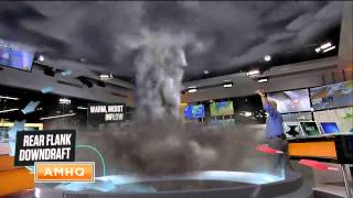 3D Visualization of the Anatomy of a Tornado!