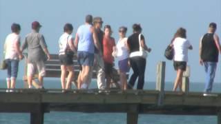 Blind Guy Falls Off Pier Prank