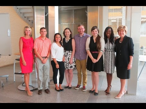 screenshot of youtube video titled 2015 ETV Endowment Interns