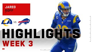 Jared Goff Has a HUGE 2nd Half vs. Bills | NFL 2020 Highlights