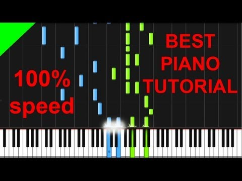 The Black Eyed Peas - Just Can't Get Enough piano tutorial