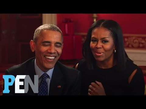 President Obama & Michelle Obama Answer Kids' Adorable Questions | PEN | Entertainment Weekly