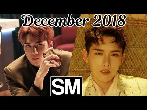 [TOP 100] Most Viewed SM Kpop MVs [December 2018]