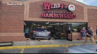 Driver Evacuated From Myrtle Beach Drives Into Wendy's