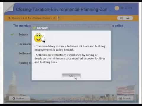 Real Estate Practice Exam #6, Closing, Taxation, Appraising, Environmental Laws, Planning, Zoning