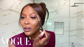 Naomi Campbell's 10-Minute Beauty Routine   Beauty Secrets   Vogue