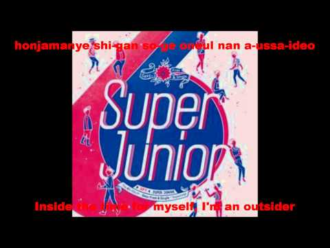 [HD] Super Junior- Outsider [Eng+Rom]