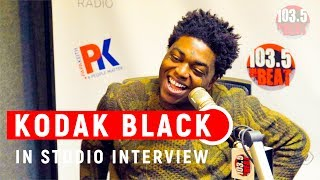 "Kodak Black Talks ""Dying To Live"", Why It's Hard to Listen to XXXTentacion, Moving to LA & more."