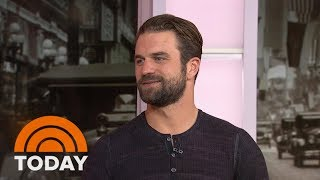 The Son Of Mel Gibson, Milo Gibson, Talks About Playing Al Capone In 'Gangster Land' | TODAY