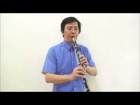 蔡琴-往事難忘(Long long ago)-黑管/豎笛Clarinet練習01(no cover-by 任閒騎miraclemaryboy)降B調